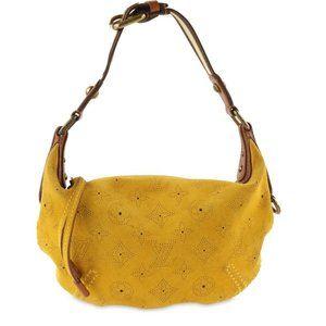 Auth Louis Vuitton Onatah Yellow #3133L24